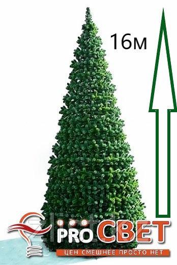 Сосна искусственная, елки искусственные из пвх леска 16 м (диаметр 7 м)
