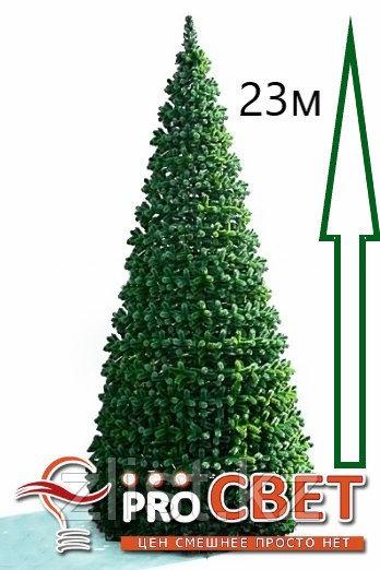 Сосна искусственная, елки искусственные из пвх леска 23 м (диаметр 10 м)