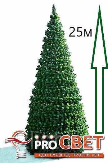 Сосна искусственная, елки искусственные из пвх леска 25 м (диаметр 11 м)