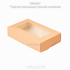 (ECO Tabox PRO 1000) Коробка с окном 200*120*40 DoEco (25/200)