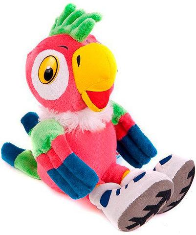 Игрушка мягкая говорящая «Попугай Кеша»