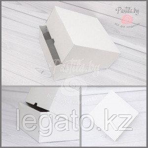 Коробка под пироженое( маленькая) 18*14*6 200шт/уп
