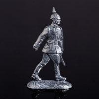 Оловянный солдатик 'Германский офицер на марше'