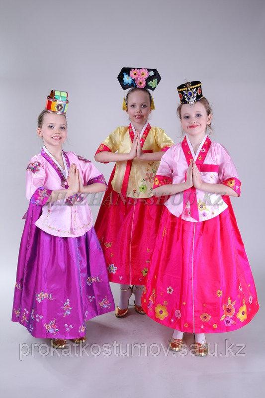 Корейские национальные костюмы на прокат