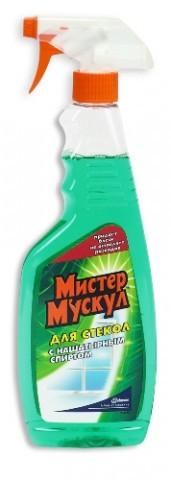 МИСТЕР МУСКУЛ  для стекол с нашатырным спиртом (ТРИГГЕР) 500мл