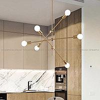 Люстра на 6 ламп в современном стиле Post-Modern
