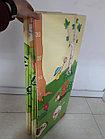 Складной двухсторонний термоковрик для малышей. Ростомер и зверушки. Размер 1,8 м.* 2 м.* 1 см., фото 3
