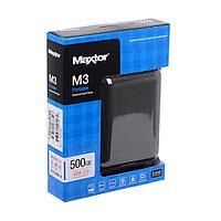 "HDD 2,5""_500GB Seagate (Maxtor) USB 3.0 500Gb STSHX-M500TCBM 2.5"" черный (Внешний жесткий диск)"