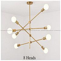 Люстра на 8 ламп в современном стиле Post-Modern