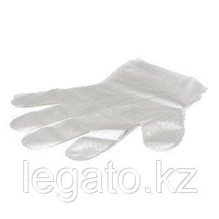 Перчатки одноразовые ПЭ (ЭЛПАК) 100шт/уп 100уп/кор размер М