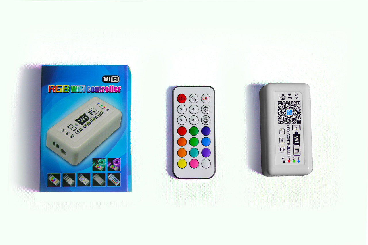 RGB контроллер 144W12V-M3Q-WIFI