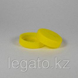 Крышка к банке сота  0,4л.(0,25л) желтая