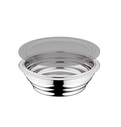 Комбимиска с пластиковой крышкой,  2,0 л, диаметр 20 см