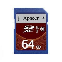 Карта памяти SDHC 64Gb Apacer, Class 10