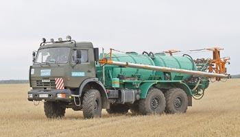 Опрыскиватель AVAGRO-MK60 на базе КАМАЗ 3-осный