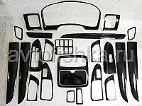 Комплект деталей под дерево на LC Prado 120 (24 элементов) черный цвет, фото 1