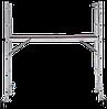Лестница-помост с рабочей высотой 2,8 м, фото 4