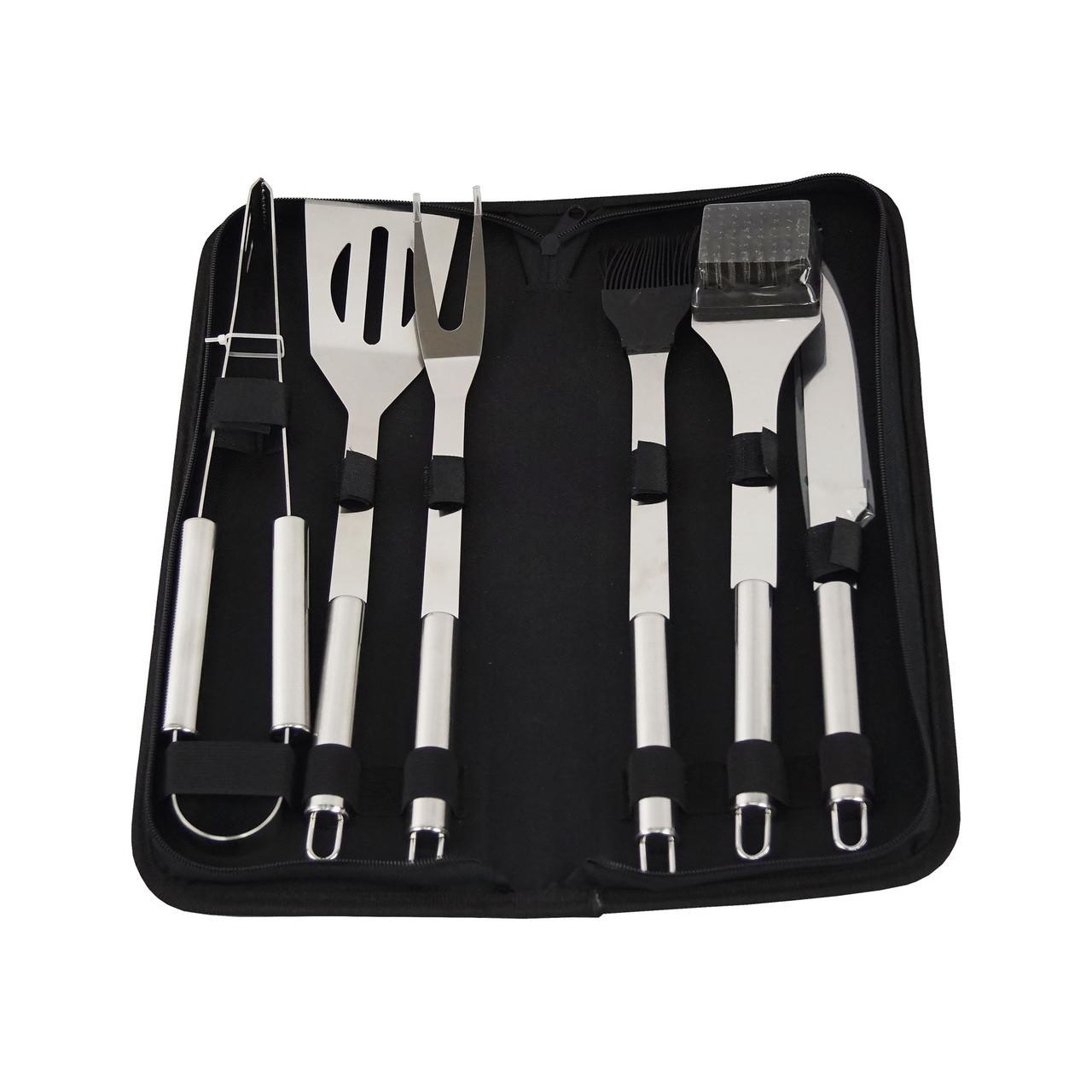 Набор инструментов для барбекю 6 предметов