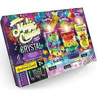 """Свечи своми руками с кристаллами """"Magic Candle"""" набор для творчества Данко-Тойс"""