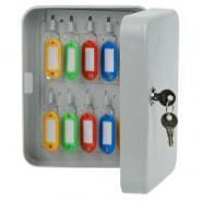 Ключница OfficeSpace на 20 ключей, ключевой замок, металл