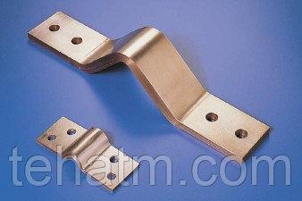 КШМ -Компенсатор шинный медный, болтовое соединение