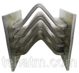 Компенсатор шинный алюминиевый КШАК  (для шин коробчатого сечения)