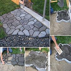 Форма-трафарет для садовых дорожек 43,5* 43,5 см, фото 3