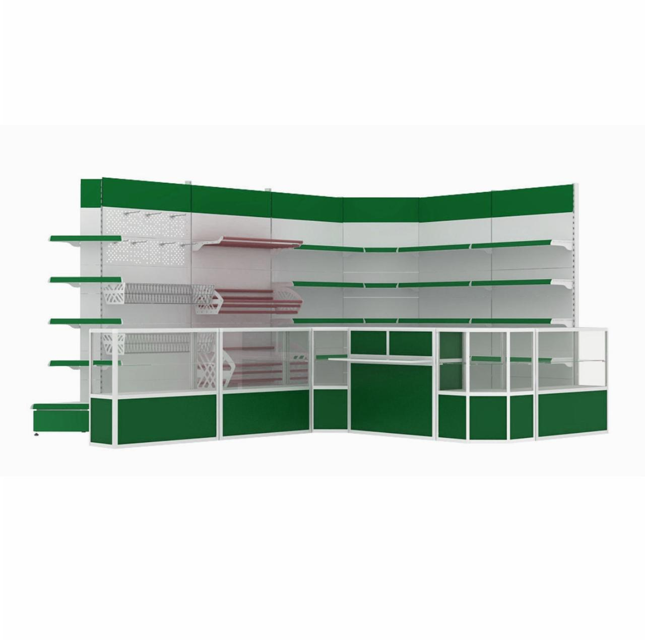 Торговое оборудование для продовольственного магазина