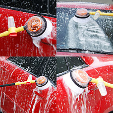 Вращающаяся щетка с насадкой для шланга Water Blast, фото 3