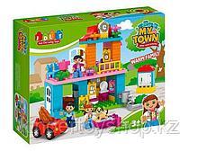 Конструктор JDLT 5295 My town город, дом,аналог лего дупло LEGO DUPLO 10835 Семейный дом96 дет