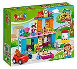 Конструктор JDLT 5295 My town город, дом,аналог лего дупло LEGO DUPLO 10835 Семейный дом 96 дет, фото 4