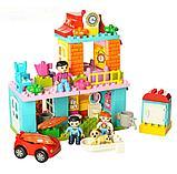 Конструктор JDLT 5295 My town город, дом,аналог лего дупло LEGO DUPLO 10835 Семейный дом 96 дет, фото 2