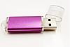 Флешка фиолетовая перламутовая под нанесение 2 гб. Бесплатная доставка по РК., фото 2