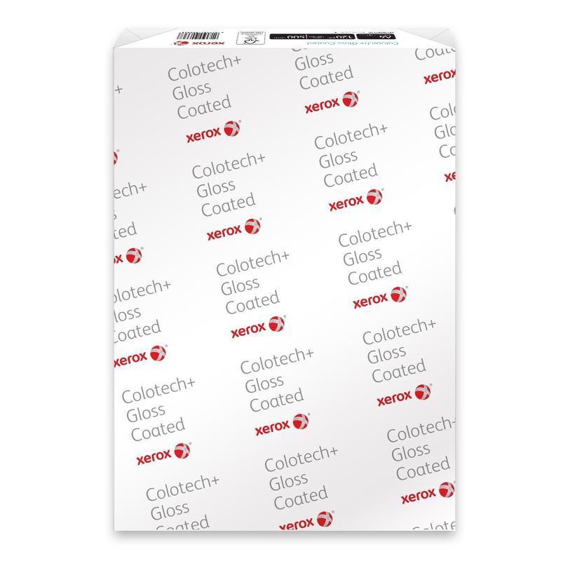 Бумага Xerox Colotech Gloss Coated плотность 210 г/м2 (А3 - 30х40 250 Листов) 003R90346