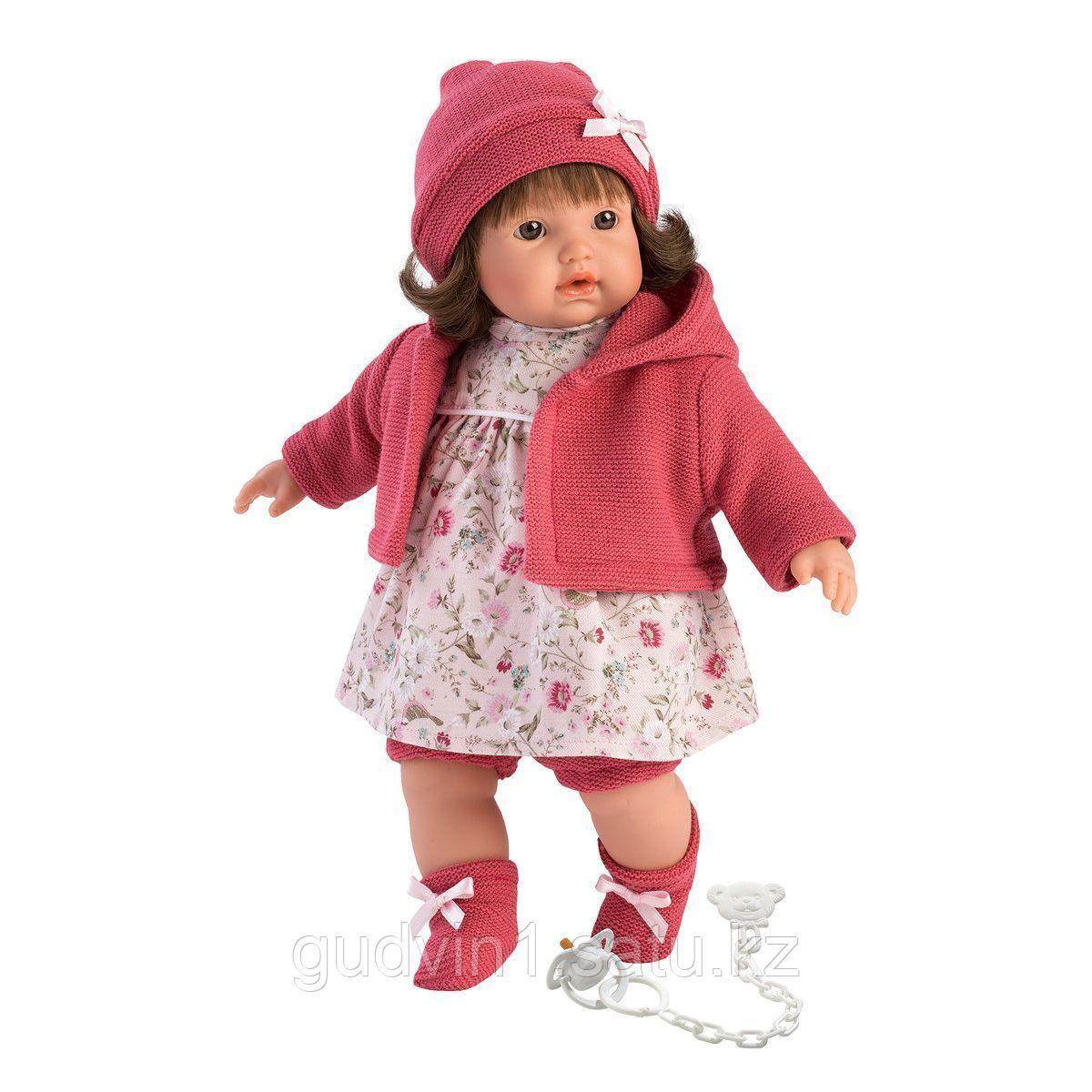 LLORENS: Кукла Айсель 33см, брюнетка в красной курточке и красной шапочке 1102605