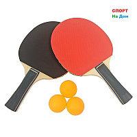 2 Ракетки для настольного тенниса Changyun + 3 шарика в подарок