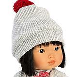 LLORENS: Кукла Лу 28см, азиатка в сером жилете и платье в цветочек 1102606, фото 2