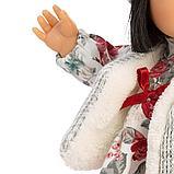 LLORENS: Кукла Лу 28см, азиатка в сером жилете и платье в цветочек 1102606, фото 3