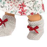 LLORENS: Кукла Лу 28см, азиатка в сером жилете и платье в цветочек 1102606, фото 4