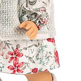 LLORENS: Кукла Лу 28см, азиатка в сером жилете и платье в цветочек 1102606, фото 5