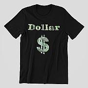 Футболка черная - Dollar
