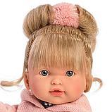 LLORENS: Кукла Валерия 28см, блондинка в розовой толстовке 1102607, фото 3