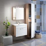 Пенал для ванной комнаты, подвесной, белый, 40см, Mirro, IDDIS    MIR4000i97, фото 2