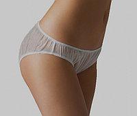 Трусы-плавки женские классические, размер 44-46, спанлейс, упаковка 10 шт.