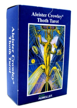 Кроули карты таро Тота покет (Crowley Thoth Tarot Pocket)