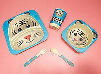 Бамбуковая посуда Тигр