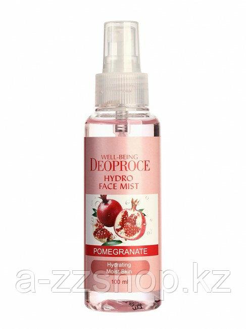 Deoproce Well - Being Hydro Face Mist Pomegranate - Мист для лица увлажняющий с экстрактом граната