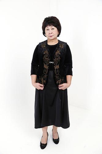 Казахский женский камзол
