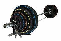 Олимпийская штанга 180 кг с дисками TPU, фото 1