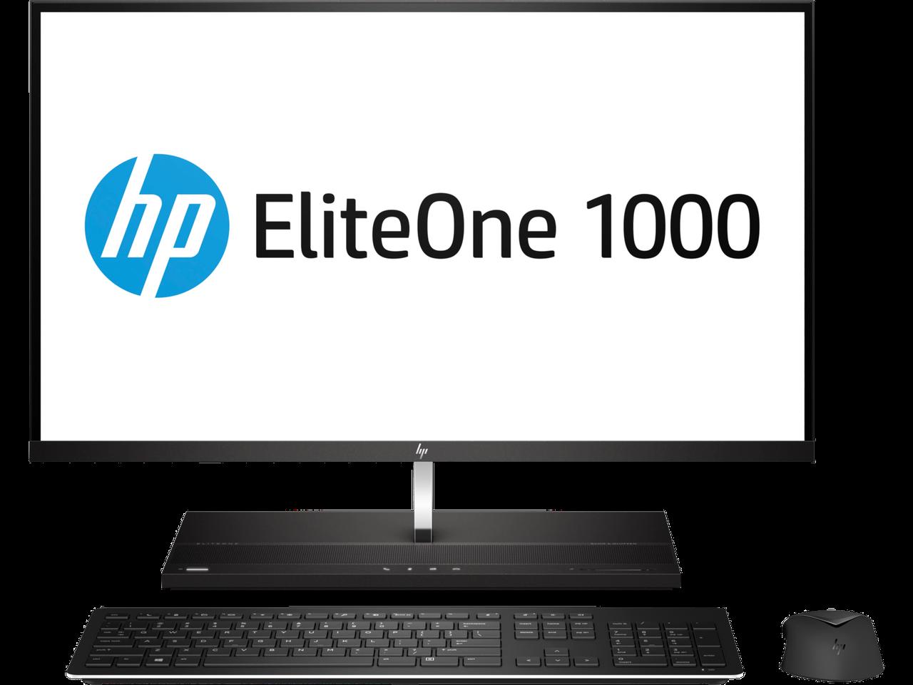 МоноблокHP 4PD88EA EliteOne 1000 G2 AiO NT i7-8700 512G 16.0G Win10 Pro 27 4K NT / i7-8700 / 16GB / 512GB SSD